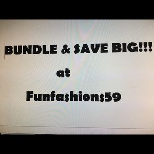Other - SAVE BY BUNDLING!!